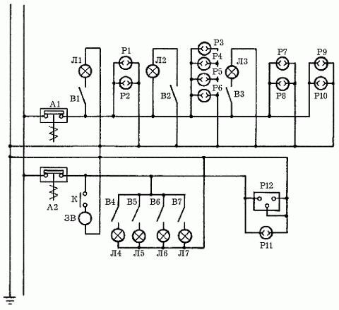 Пример домашней электрической